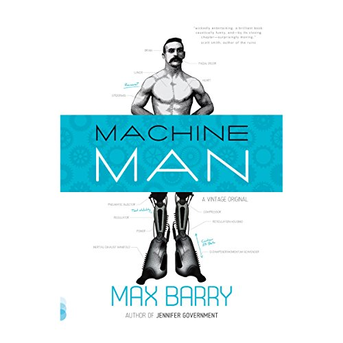 Machine Man audiobook cover art