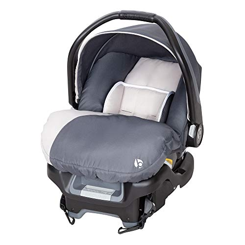 Baby Trend Ally Adjustable Comfortable Carry 35 Pound Infant Baby Car Seat and Base, Gray Magnolia