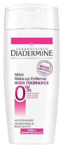 Diadermine High Tolerance Make-Up Entferner Reinigungsmilch, 3er Pack (3 x 200 ml)