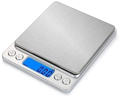 GCX Portátil Escalas de Cocina Digitales, Escalas de Bolsillo Mini Escalas, Escala...