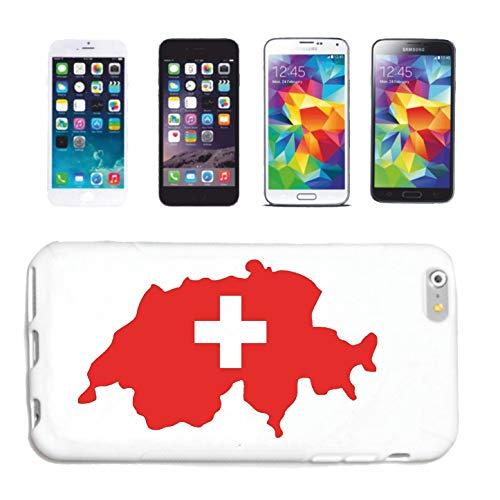 Helene telefoonhoes compatibel met iPhone 7 Zwitserland Zweeds land Basel Treurch trechter case beschermhoes telefoonhoes Smart Cover