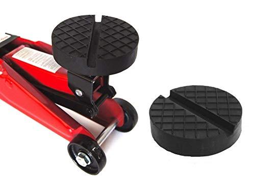 120x25mm mit Nut/Waffel Gummiauflage Gummi-Unterlage Auflage Wagen-Heber Hebebühne rund Auto Klotz Rangier-Wagenheber Puffer Reifen Reifenwechsel LKW Räder KFZ Tuning Zubehör