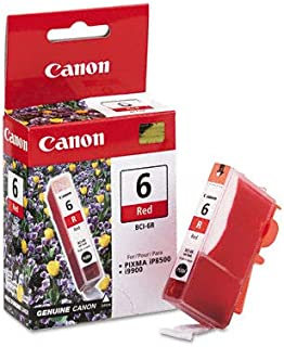 CANON BR BJC-8200 1-BCI6R SD RED INK - CANON OEM InkJet Ink