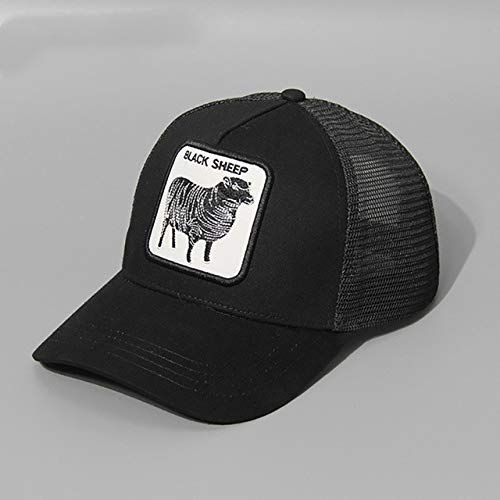 baseball net cap For Men spring summer hat sunshade adjustable size Holiday driver cap-Royal Blue