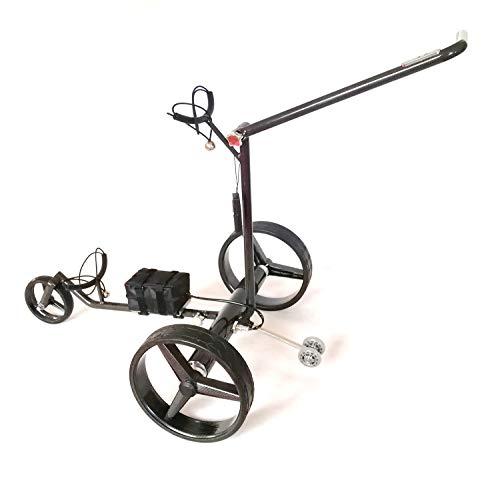 GT-CR - Carrito de golf eléctrico (carbono, mando a distancia, incluye accesorios)