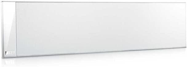 KEF T301C Center Channel Speaker - White (Single)