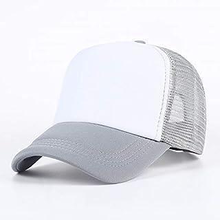 Chlally Simple Costura Hombres Sombrero Moda Multicolor Dama 100% algodón Gorra de béisbol para Adultos Hip Hop Sombrero Deportes al Aire Libre Sombrero para el Sol