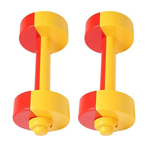 CLISPEED 1 par de mancuernas con mancuernas para ejercicios de mano con...