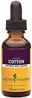 Herb Pharm Cotton Root Extract - 1 Ounce by Herb Pharm