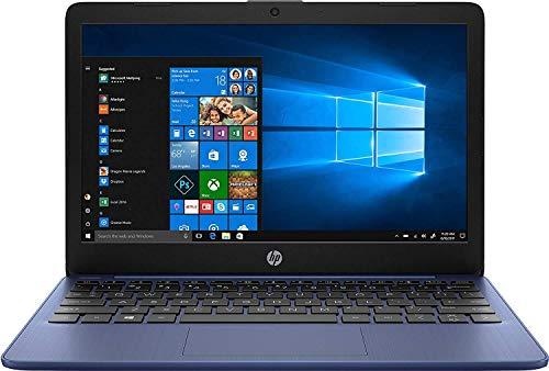 HP Stream 11-AK0001NA 11.6' Laptop 1366 x 768 pixels Intel Celeron N4000 2GB DDR4-SDRAM 32GB eMMC Wi-Fi 5 802.11ac Windows 10 S - 5AT52EA - UK Keyboard Layout - Plain Box (Renewed)