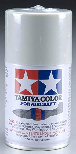 Tamiya America, Inc Aircraft Spray Paint AS-16 Light Gray (USAF) 100ml, TAM86516
