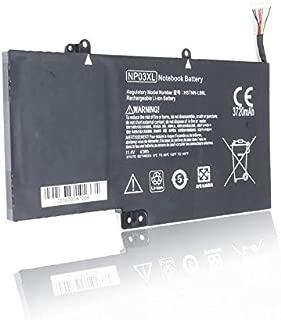 ISUER Laptop Battery NP03XL for HP X360 13-A010DX 13-b116t Envy 15-U010DX 15-U337CL 15-U050CA 760944-421 HSTNN-LB6L 760944-421 TPN-Q146 TPN-Q147 TPN-Q148 TPN-Q149 761230-005