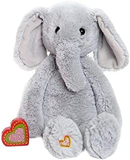 My Baby's Heartbeat Bear - Vintage Stuffed Elephant with a 20 Second Voice/Sound Recorder Keeps Your Baby's Ultrasound Heartbeat Safe! - Vintage Elephant