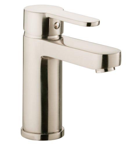 AquaSu Sanmix - Grifo mezclador monomando para lavabo (acero inoxidable)