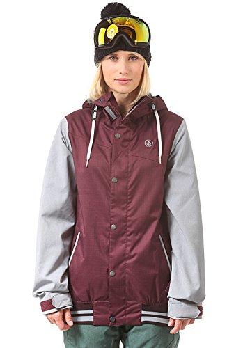 Volcom Damen Snowboardjacke Billie Jacket, Burgundy, M