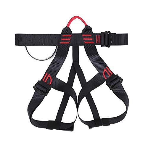 Novopus:Klettersicherheitsgurt, halblanger Klettergurt, hochfester Kletterschutz aus Polyester Rettungsgurt in großer Höhe