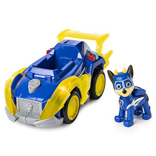 Paw Patrol 6053026 - Vehículo + Figura de Cachorros Poderosos, Modelo Aleatorio , color/modelo surtido