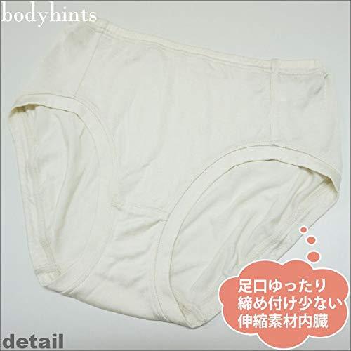 bodyhints(ボディヒンツ)『シルク100%足口ゆったりショーツ』