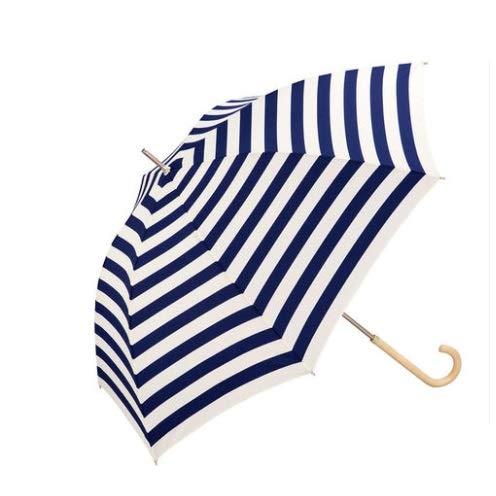 Unbekannt Sonnenschirm Sonnencreme UV-Schutz Starker wasserabweisender Leichter Haltbarer Holzgriff (Color : D)