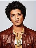 Bruno Mars - Wall Poster Print - A4 Size Plakat Größe X
