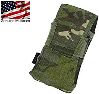 TMC Multicam Tropic Tactical Double Mag 417 Magazine Pouch for airsoft Paintball