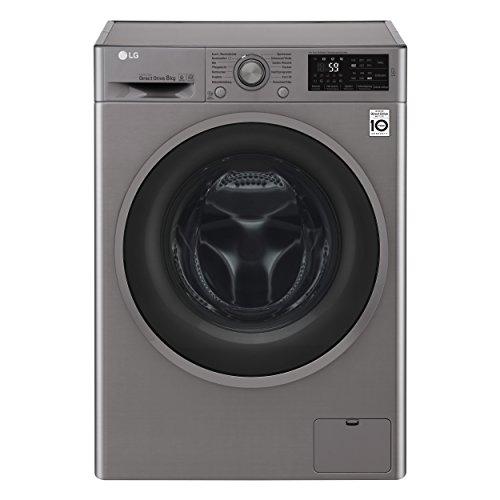 LG Electronics F 14WM 8TN4 Waschmaschine Frontlader / A+++ / 132 kWh/Jahr / 1400 UpM / 8 kg / silber...