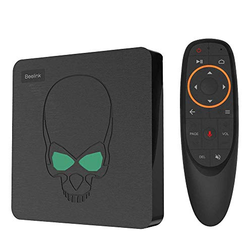 DroiX Bee-Link GT King AMLogic S922X Android 9 Pie Powered 4K Ultra HD TV Smart PC ; 4GB RAM, 64GB Storage, Dual-Band Wi-Fi 6, 1GB/s ETH, SPDIF w/ G10 Air-Mouse
