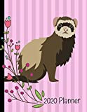 2020 Planner: Ferret Pink 2020 Weekly Planner Organizer Dated Calendar And ToDo List Tracker Notebook