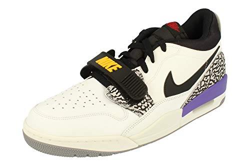 Nike Herren AIR Jordan Legacy 312 Low Basketballschuhe, Mehrfarbig (Summit White/Varsity Red-Black 102), 45 EU