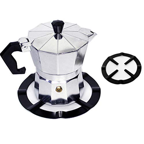 Osun 1 x Eisen-Gasherd-/Kaffee-/Mokkakannen-Ständer, Reduzierring