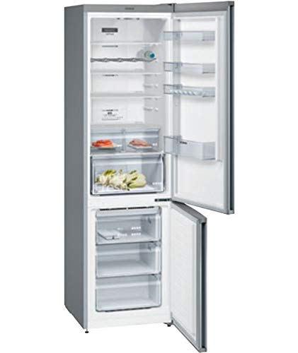 Kühlschrank Kombi Edelstahl No Frost Siemens KG39NXIEA 2030 x 600 mm.CLA.A++