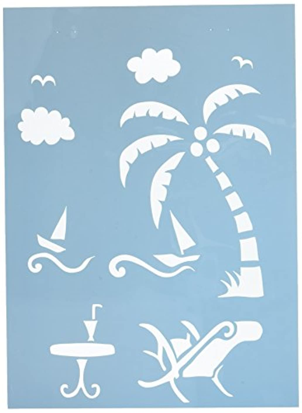 Multicraft Imports PA732C On Holiday Color Factory Stencil, 8