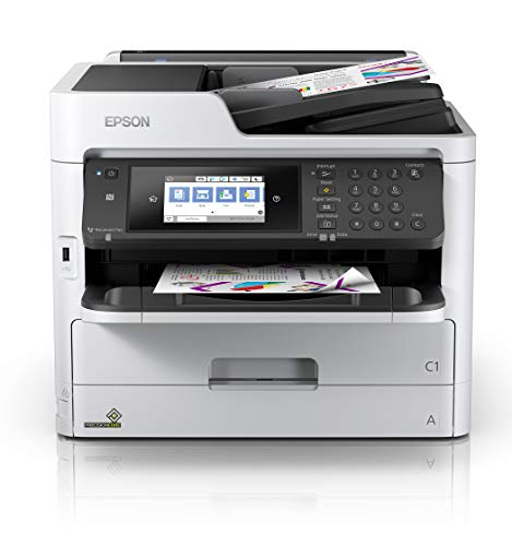 Epson Workforce Pro WF-C5710 Network Multifunction Color Printer, Standard Capacity, Silver