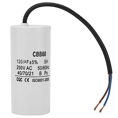 CBB60 Motor Capacitor,AC 250V 120uF 50/60Hz,1pc