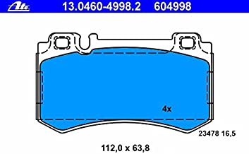 ATE GERMANY Mercedes (03-09 AMG) Brake Pad Set Rear w211 w215 w219 w220 r230 0034206220