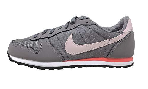 Nike Genicco Zapatillas Informales para Mujer, Gris (Gunsmoke/Particle Rose), 37 EU