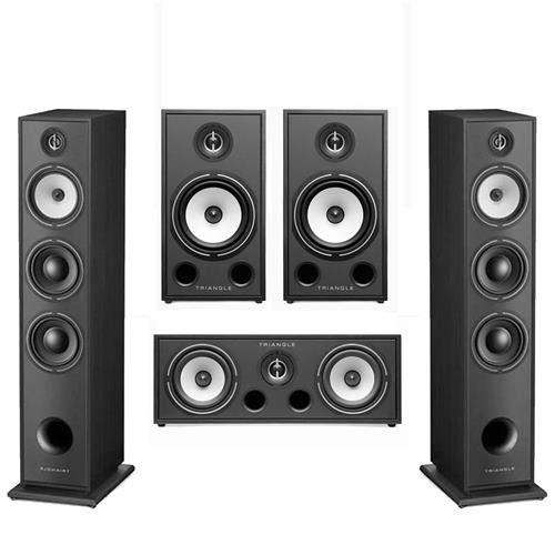 For Sale! triangle HiFi Floor Standing Speakers, Borea BR08, Black Ash, Pair - Bundle with HiFi Home...