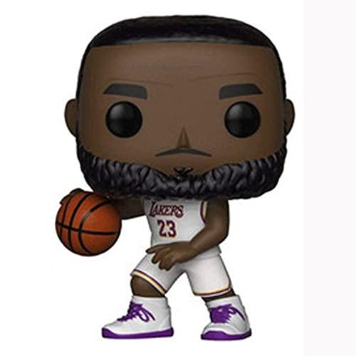 Licht-ZT NBA Pop Figure Lebron James Chibi Vinly PVC Decor Collection Model Decorations