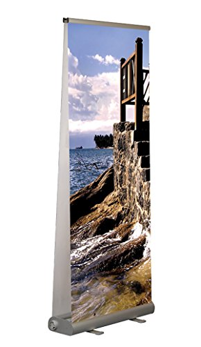 Rollbanner Doppelseitig Aufsteller Plakathalter Roll-Up Display Werbeaufsteller