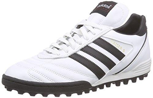 adidas Kaiser 5 Team, Scarpe da Calcio Uomo, Bianco (Ftwr White/Core Black/Core Black), 39 1/3 EU