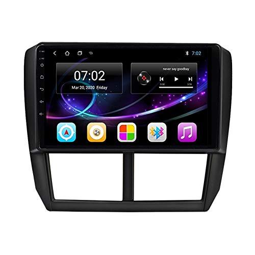 MGYQ Reproductor MP5 para Estéreo Coche, para Subaru Forester Impreza 2008-2012 Radio del Coche con Pantalla Táctil HD Bluetooth USB Soporte FM Radio Control del Volante AUX IN,Octa Core,4G WiFi 4+64