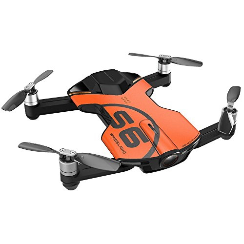 Wingsland S6 Drone Outdoor Edition 4K Pocket Drone Electronics, Yellow...