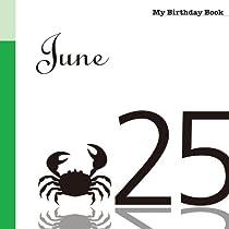 6月25日 My Birthday Book