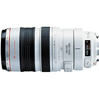 Canon EF 100-400mm f/4.5-5.6L IS USM - Objetivo para Canon (Distancia Focal 100-400mm, Apertura f/4.5, Zoom óptico 4X,estabilizador óptico, diámetro: 92mm) Color Blanco (B00007GQLS) | Amazon price tracker / tracking, Amazon price history charts, Amazon price watches, Amazon price drop alerts