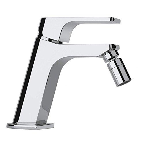 Miscelatore rubinetto per bidet con piletta di scarico Click Clack,Atacama Paini