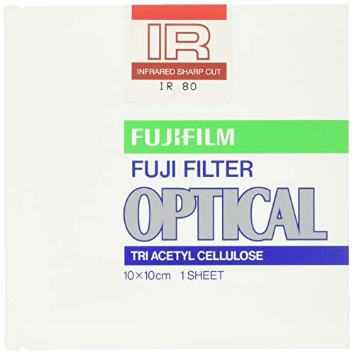 FUJIFILM 光吸収・赤外線透過フィルター(IRフィルター) 単品 フイルター IR 80 10X 1
