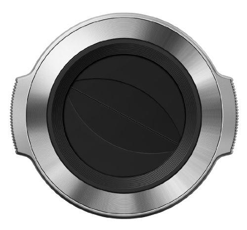 Olympus LC-37C automatischer Objektivdeckel (geeignet für M.Zuiko 14-42 mm EZ) silber