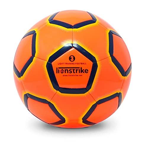 Lionstrike Größe 3 Lite Fussball - Leichter Trainingsfussball für Jungen/Mädchen im Alter von 3 bis 7 Jahren