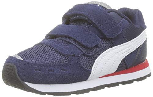 PUMA Unisex Baby Vista V Inf Sneaker, Peacoat White, 22 EU