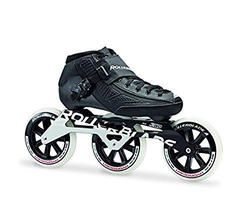 top 10 usa roller blades Roller Blade Power Blade Elite 125 Skate Black 27.5 & Headband Set